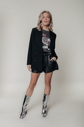 Colourful Rebel Oversized Blazer Black